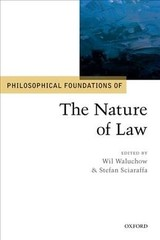 Philosophical Foundations Of The Nature Of Law - ISBN: 9780198812951