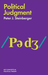 Political Judgment - An Introduction - Steinberger - ISBN: 9781509513109