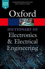 A Dictionary Of Electronics And Electrical Engineering - Butterfield, Andrew/ Szymanski, John - ISBN: 9780198725725