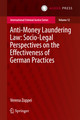 Anti-money Laundering Law: Socio-legal Perspectives On The Effectiveness Of German Practices - Zoppei, Verena - ISBN: 9789462651791