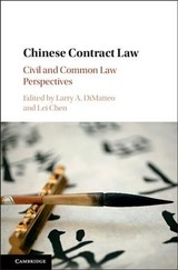 Chinese Contract Law - ISBN: 9781107176324