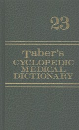 Taber's Cyclopedic Medical Dictionary Deluxe Gift Edition - F.a. Davis - ISBN: 9780803659056