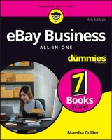 Ebay Business All-in-one For Dummies - Collier, Marsha - ISBN: 9781119427711