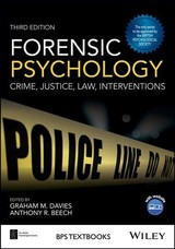 Forensic Psychology - ISBN: 9781119106678
