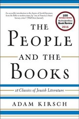People And The Books - 18 Classics Of Jewish Literature - Kirsch, Adam - ISBN: 9780393354782