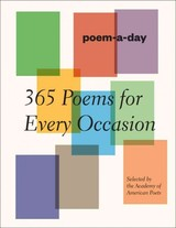 Poem-a-day - Academy of American Poets, Inc. (COR) - ISBN: 9781419717994