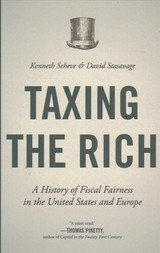 Taxing The Rich - Scheve, Kenneth; Stasavage, David - ISBN: 9780691178295