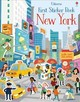 First Sticker Book New York - Maclaine, James - ISBN: 9781474937047