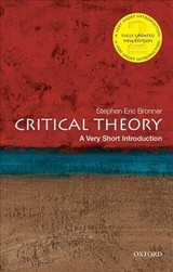 Critical Theory: A Very Short Introduction - Bronner, Stephen Eric (rutgers University) - ISBN: 9780190692674