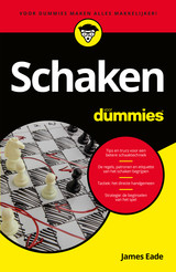Schaken voor dummies - James  Eade - ISBN: 9789045353418