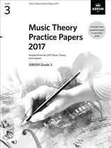Music Theory Practice Papers 2017, Abrsm Grade 3 - Abrsm - ISBN: 9781786010803