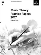 Music Theory Practice Papers 2017, Abrsm Grade 7 - Abrsm - ISBN: 9781786010896