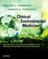 Clinical Environmental Medicine - Crinnion, Walter J.; Pizzorno, Joseph E. - ISBN: 9780323480864