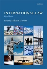 International Law - Evans, Malcolm - ISBN: 9780198791836
