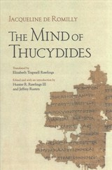 Mind Of Thucydides - Romilly, Jacqueline De - ISBN: 9781501714825