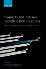 Inequality And Inclusive Growth In Rich Countries - ISBN: 9780198807032