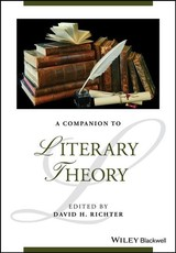 Companion To Literary Theory - Richter, David H. (EDT) - ISBN: 9781118958674