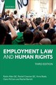Employment Law And Human Rights - Allen Qc, Robin (barrister, Cloisters); Crasnow Qc, Rachel (barrister, Cloisters); Beale, Anna (barrister, Cloisters); Mccann, Claire (barrister, Cloisters); Barrett, Rachel (barrister, Cloisters) - ISBN: 9780198783978