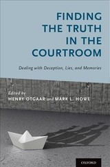 Finding The Truth In The Courtroom - Otgaar, Henry (EDT)/ Howe, Mark L. (EDT) - ISBN: 9780190612016