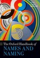 Oxford Handbook Of Names And Naming - Hough, Carole (EDT) - ISBN: 9780198815532