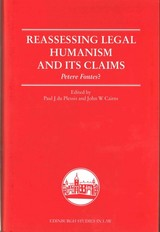 Reassessing Legal Humanism And Its Claims - Cairns - ISBN: 9781474408851