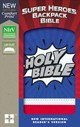 Nirv, Super Heroes Backpack Bible, Leathersoft, Blue/red - Zonderkidz - ISBN: 9780310761617