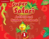 Super Safari American English Level 1 Letters And Numbers Workbook - ISBN: 9781316609491