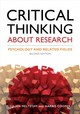 Critical Thinking About Research - Cooper, Harris M.; Meltzoff, Julian - ISBN: 9781433827105
