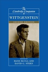 Cambridge Companion To Wittgenstein - Sluga, Hans (EDT)/ Stern, David G. (EDT) - ISBN: 9781107545946
