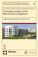 The Implementation of the New Insolvency Regulation  - ISBN: 9783848744480