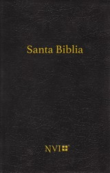 Santa Biblia Congregacional Nvi - Tapa Dura Negra - Nvi-nueva Version International - ISBN: 9780829768381