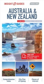 Insight Guides Travel Map Australia & New Zealand - Insight Guides - ISBN: 9781786719027