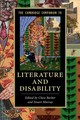 The Cambridge Companion To Literature And Disability - Barker, Clare (EDT)/ Murray, Stuart (EDT) - ISBN: 9781107458130