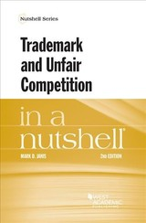 Trademark And Unfair Competition In A Nutshell - Janis, Mark - ISBN: 9781634609067