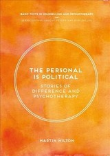Personal Is Political - Milton, Martin - ISBN: 9781352001709
