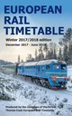 European Rail Timetable Winter 2017-2018 Edition - ISBN: 9780995799813