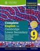 Complete English For Cambridge Lower Secondary 9 - Parkinson, Tony; Jenkins, Alan - ISBN: 9780198364672
