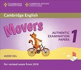 Cambridge English Movers 1 For Revised Exam From 2018 Audio Cds (2) - ISBN: 9781316635988