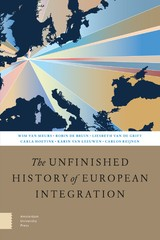 The Unfinished History of European Integration - Wim van Meurs - ISBN: 9789048540198