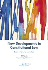 New Developments in Constitutional Law - ISBN: 9789462747135