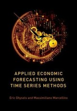 Applied Economic Forecasting Using Time Series Methods - Marcellino, Massimiliano (professor Of Econometrics, Professor Of Econometrics, Bocconi University); Ghysels, Eric (edward M. Bernstein Distinguished Professor Of Economics And Professor Of Finance, Edward M. Bernstein Distinguished Professor Of Economics And Professor Of Finance, Kenan-flagler School Of Business, University Of North Carolina, Chapel Hil - ISBN: 9780190622015