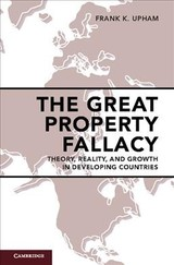 The Great Property Fallacy   - Upham, Frank K. - ISBN: 9781108422833