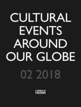 Cultural events around our globe 02 2018 / 01 - Don  Muschter - ISBN: 9789492305725