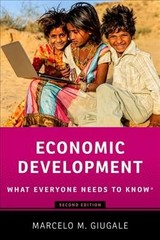 Economic Development - Giugale, Marcelo M. (director Of Economic Policy And Poverty Reduction Programs For Africa, World Bank) - ISBN: 9780190688417