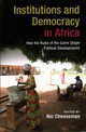 Institutions And Democracy In Africa - Cheeseman, Nic (EDT) - ISBN: 9781316602553