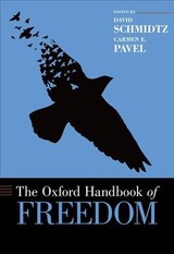 Oxford Handbook Of Freedom - Schmidtz, David (EDT)/ Pavel, Carmen E. (EDT) - ISBN: 9780199989423