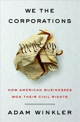 We The Corporations - Winkler, Adam - ISBN: 9780871407122