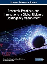 Research, Practices, And Innovations In Global Risk And Contingency Management - Strang, Kenneth David (EDT)/ Korstanje, Maximiliano E. (EDT)/ Vajjhala, Narasimha (EDT) - ISBN: 9781522547549