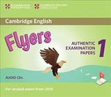 Cambridge English Flyers 1 For Revised Exam From 2018 Audio Cds (2) - ISBN: 9781316635995
