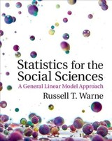 Statistics For The Social Sciences - Warne, Russell (utah Valley University) - ISBN: 9781107576971
